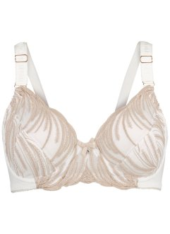 Reggiseno minimizer, bpc selection, Ecru / color nudo