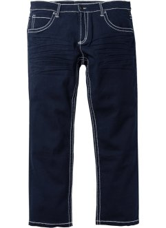 Jeans elasticizzato 5 tasche regular fit straight, bpc selection