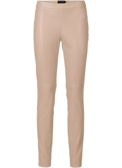 Pantaloni in similpelle, BODYFLIRT, Color nudo