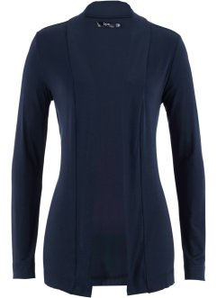 Cardigan in maglina leggera, bpc bonprix collection, Blu scuro