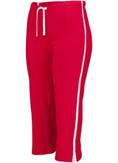 Pinocchietto per lo sport, bpc bonprix collection, Rosso scuro