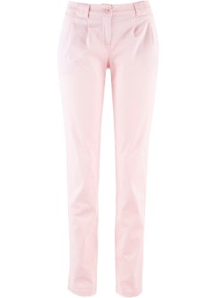 Pantaloni chino, bpc bonprix collection, Rosa tenero