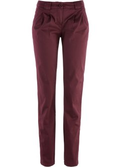 Pantaloni chino, bpc bonprix collection, Rosso acero