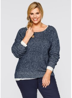 Pullover bicolore, bpc bonprix collection