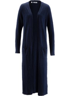 Cappotto in maglia, bpc bonprix collection, Blu scuro