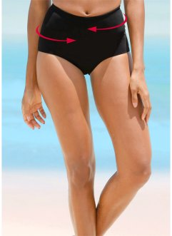 Slip modellante per bikini, bpc bonprix collection, Nero