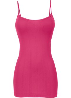 Top senza cuciture, bpc bonprix collection, Fucsia