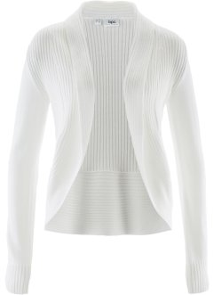 Cardigan, bpc bonprix collection, Bianco panna