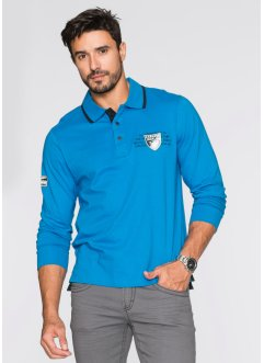 Polo a manica lunga regular fit, bpc selection, Arancione