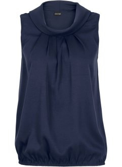 Top, BODYFLIRT, Blu scuro