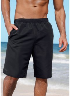 Pantaloncini da bagno, bpc bonprix collection, Nero