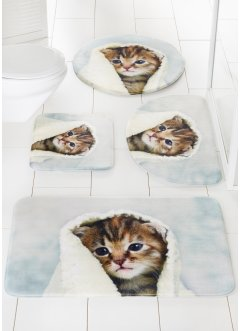 "Tappetino per bagno ""Kitty"" in memory foam, bpc living"