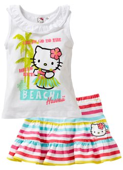 "Top + gonna ""HELLO KITTY"" (set 2 pezzi), Hello Kitty"