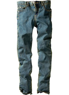 Jeans slim fit, John Baner JEANSWEAR, Dirty denim