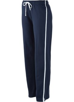 Pantaloni da jogging in felpa, bpc bonprix collection, Blu scuro