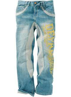 Jeans con stampa, John Baner JEANSWEAR, Dirty denim