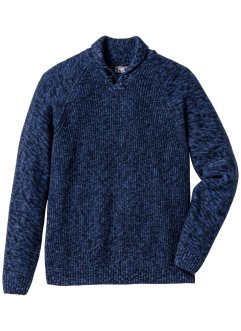 Pullover con collo a scialle regular fit, bpc bonprix collection