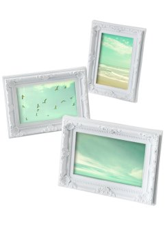 "Portafoto ""Ornament"" (set 3 pezzi), bpc living"