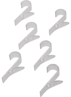 Ganci per radiatore tubolare (set 6 pezzi), bpc living bonprix collection
