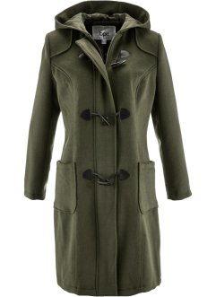 Cappotto in misto lana, bpc bonprix collection, Verde oliva scuro