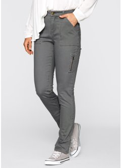 Pantalone Maite Kelly, bpc bonprix collection, Grigio fumé
