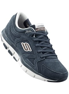Sneaker in pelle shape-up  Skechers, Skechers, Blu scuro