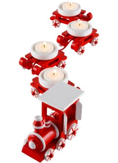 "Portacandele ""Trenino di Natale"" (Set 5 pezzi), bpc living bonprix collection"