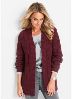 Cardigan, bpc selection, Rosso acero