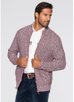 Cardigan regular fit, bpc selection, Rosso acero melange