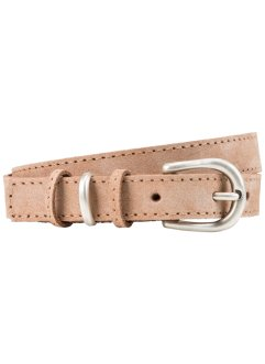 Cintura in pelle, bpc bonprix collection, Beige