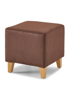 "Pouf ""Kuopio"", bpc living, Marrone scuro"