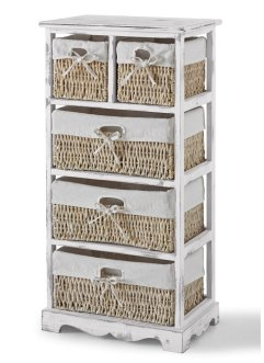 Scaffale con 5 cesti, bpc living bonprix collection