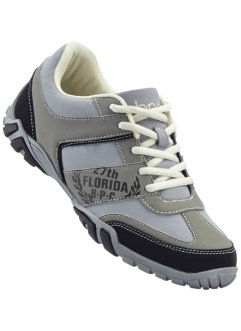Sneaker, bpc bonprix collection, Grigio / nero