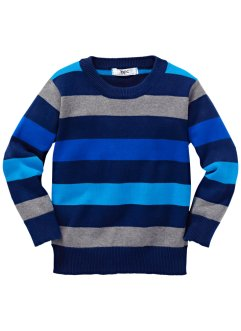 Pullover, bpc bonprix collection, Blu a righe