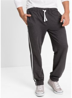 Pantalone da jogging regular fit, bpc bonprix collection, Antracite melange