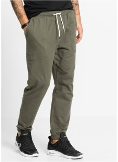 Pantalone da jogging slim fit, RAINBOW, Verde oliva scuro