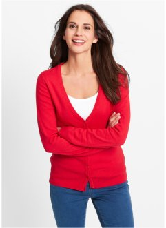 Cardigan, bpc bonprix collection, Rosso
