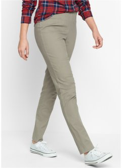"Leggings elasticizzato ""Stretto"", bpc bonprix collection, Kaki scuro"