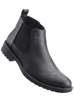 Stivaletto Chelsea, bpc bonprix collection, Nero