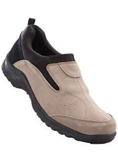 Mocassino in pelle, bpc bonprix collection, Sabbia