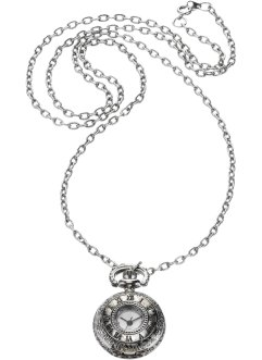 "Collana orologio ""Antica"", bpc bonprix collection, Color argento"