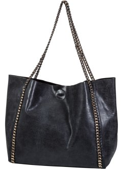 Borsa shopper con catenelle, bpc bonprix collection