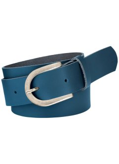 "Cintura in pelle ""Elisa"", bpc bonprix collection, Blu"