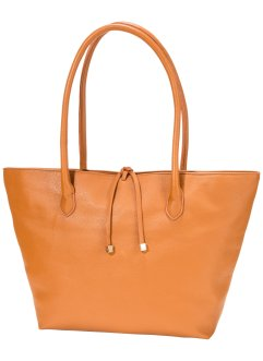 Borsa in similpelle strutturata, bpc bonprix collection