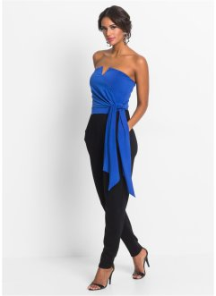 Tuta, BODYFLIRT boutique, Blu scuro / nero