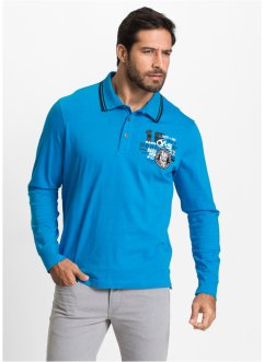 Polo a manica lunga regular fit, bpc bonprix collection