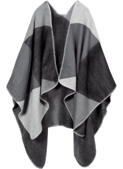 Poncho a quadri, bpc bonprix collection
