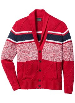 Cardigan con collo a scialle regular fit, bpc selection