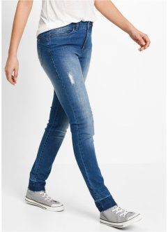 Jeans con fondo grezzo Maite Kelly, bpc bonprix collection, Blu stone used