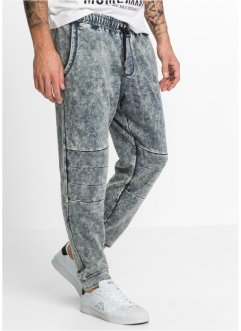 Pantalone da jogging slim fit, RAINBOW, Grigio